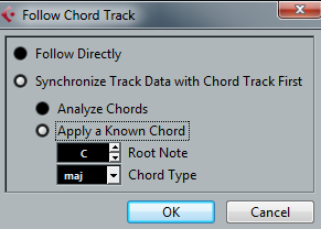 Follow Chords Dialog